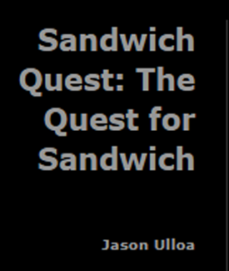 Sandwich Quest Title Screen